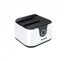 """Dock Station TooQ TQDS-802BW SATA 2.5""""/3.5"""" a USB 3.0 com USB 2.0 HOST"""