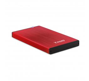 """Caixa Externa 2.5"""" TooQ TQE-2527R SATA I/II/III a USB 3.0"""