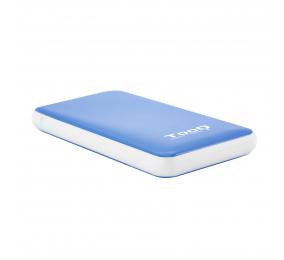 """Caixa Externa 2.5"""" TooQ TQE-2528BL SATA I/II/III a USB 3.1 Gen1 com UASP"""