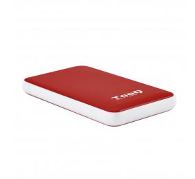 """Caixa Externa 2.5"""" TooQ TQE-2528R SATA I/II/III a USB 3.1 Gen1 com UASP"""