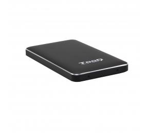 """Caixa Externa 2.5"""" TooQ TQE-2531B SATA I/II/III a USB 3.1 Gen1 com UASP"""
