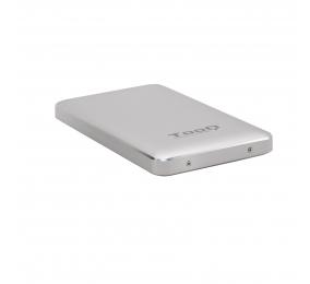 """Caixa Externa 2.5"""" TooQ TQE-2531S SATA I/II/III a USB 3.1 Gen1 com UASP"""