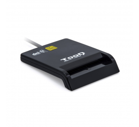 Leitor Cartão Cidadão TooQ TQR-210B USB 2.0 Preto