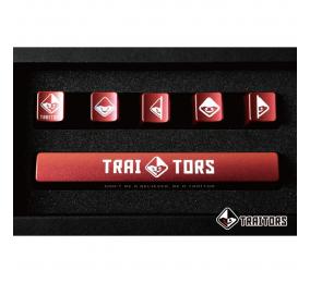 Conjunto 6 Teclas Traitors Classic - PBT