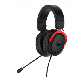 Headset Asus TUF Gaming H3 7.1 Preto/Vermelho