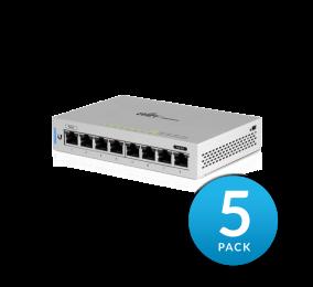 Switch Ubiquiti US-8-5 UniFi Switch 8 5-Pack