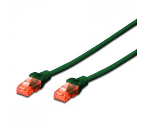 Cabo de Rede Ewent EW-6U Patch Cable CAT 6 UTP 0.5m Verde