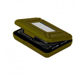 """Caixa de Proteção Orico PHX-35 para HDD 3.5"""" Verde"""