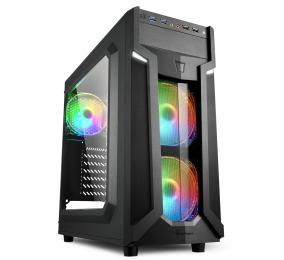 Caixa ATX Sharkoon VG6-W RGB Preta