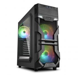 Caixa ATX Sharkoon VG7-W RGB Preta