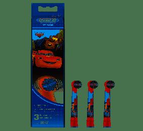 Cabeça para Escova de Dentes Elétrica Oral-B Stages Cars/Princesas/Mickey (3 Pack)