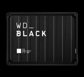 "Disco Externo 2.5"" Western Digital WD_BLACK P10 Game Drive 5TB USB 3.2 Preto"