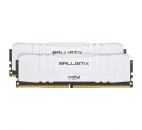 Memória RAM Crucial Ballistix Gaming 16GB (2x8GB) DDR4-3000MHz CL15 Branca