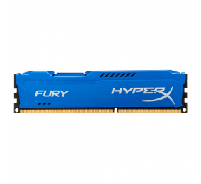 Memória RAM HyperX Fury 8GB (1x8GB) DDR3-1600MHz CL10 Azul