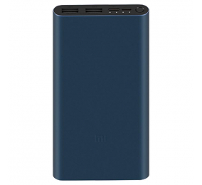 Powerbank Xiaomi Mi 3 10000mAh 18W Fast Charge Preta