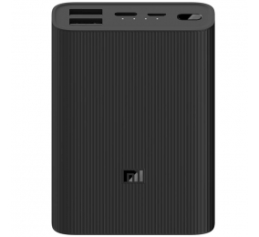 Powerbank Xiaomi Mi Power Bank 3 Ultra Compact 10000mAh Preta