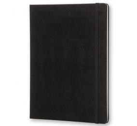 Caderno XL Pautado Moleskine Clássico Preto