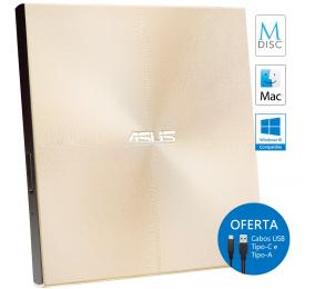 Drive Ótica Externa Asus ZenDrive U9M Gold